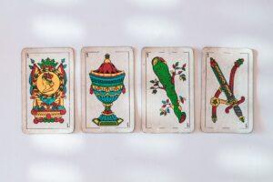 lectura de cartas con la baraja española